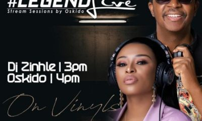 DJ Zinhle Legend Live Mix scaled 1 400x240 - DJ Zinhle – Legend Live Mix