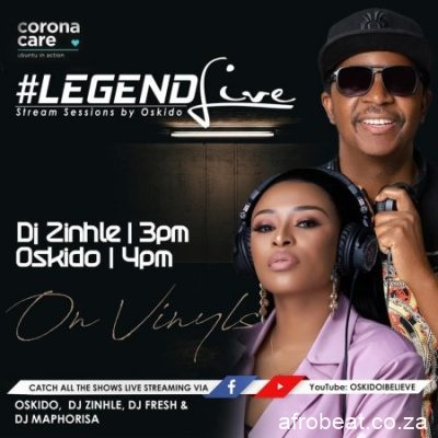 DJ Zinhle Legend Live Mix scaled 1 - DJ Zinhle – Legend Live Mix