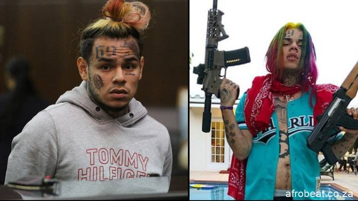 5eb66fb822e55 Afro Beat Za - Tekashi 6ix9ine Sent Messages To His Haters In Caption I'M THE F*** KING