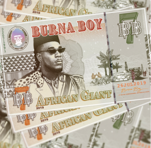 ALBUM Burna Boy – African Giant Afro Beat Za 2 300x294 - Burna Boy – Gum Body Ft. Jorja Smith