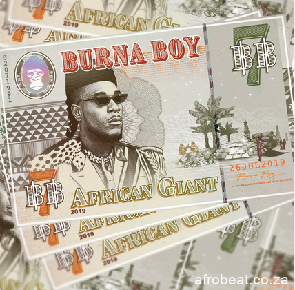 ALBUM Burna Boy – African Giant Afro Beat Za 9 - Burna Boy – Different Ft. Damian Marley & Angelique Kidjo