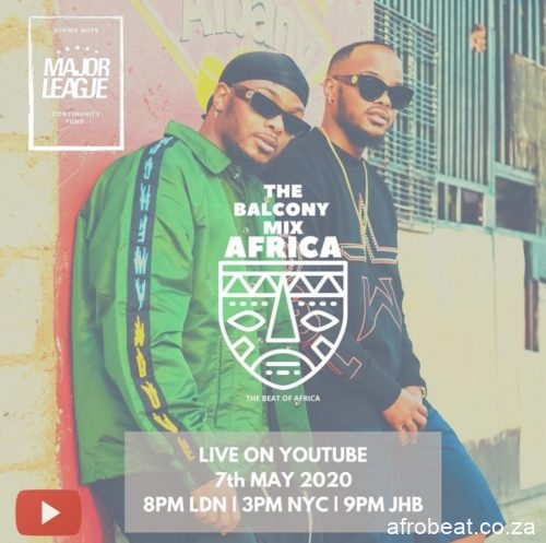 ML14 Afro Beat Za - Major League – Amapiano Live Balcony Mix 14