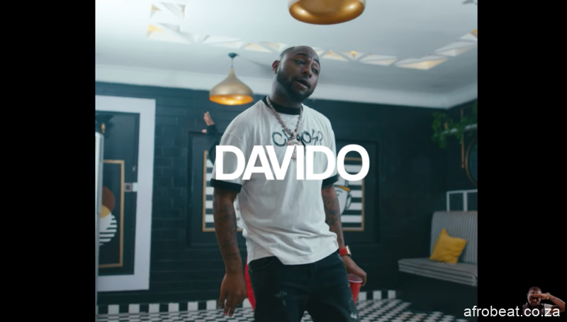 Screen Shot 2020 05 13 at 7.35.24 PM Afro Beat Za - VIDEO: Davido - Mafa Mafa Ft. Peruzzi, Dremo & The Flowolf