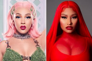 doja nicki minaj Afro Beat Za 300x200 - Doja Cat, Nicki Minaj 'Say So' Remix Hits No. 1 on Billboard