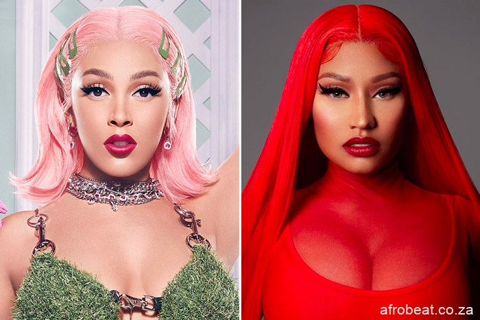 doja nicki minaj Afro Beat Za - Doja Cat, Nicki Minaj 'Say So' Remix Hits No. 1 on Billboard