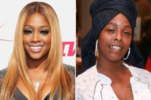 trina khia Afro Beat Za 300x200 - Trina Shuts Down Khia After Being Challenged to Battle