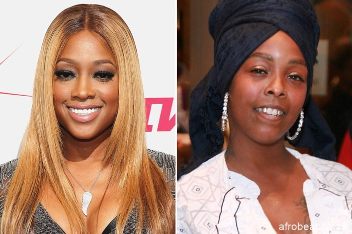 trina khia Afro Beat Za - Trina Shuts Down Khia After Being Challenged to Battle