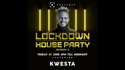 Kwesta Lockdown House Party Afro Beat Za - Kwesta – Lockdown House Party
