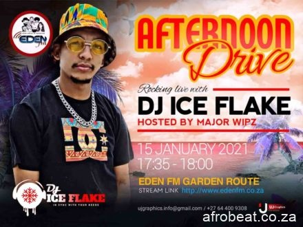 139493765 3670100739735214 4615416491569196418 o e1611057919727 - Dj Ice Flake – Eden FM Afternoon Dive Mix