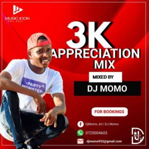 Dj Momo – 3K Appreciation Mix Hiphopza 300x300 - Dj Momo – 3K Appreciation Mix