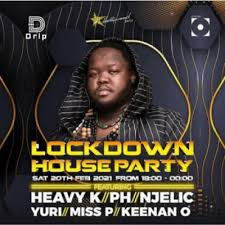 Heavy K – Lockdown House Party 2021 Hiphopza - Heavy K – Lockdown House Party 2021