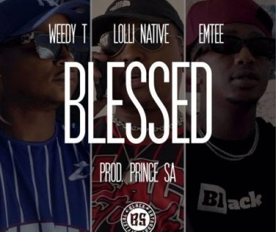 Weedy T ft Emtee Lolli Native Blessed scaled 1 400x337 - Weedy T ft Emtee & Lolli Native – Blessed