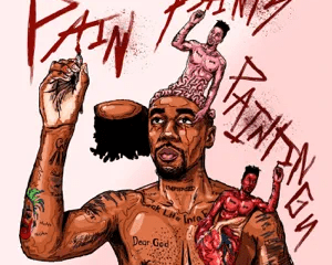 pain paints paintings dax Hip Hop More Afro Beat Za 6 300x240 - Dax – Does God Cry?